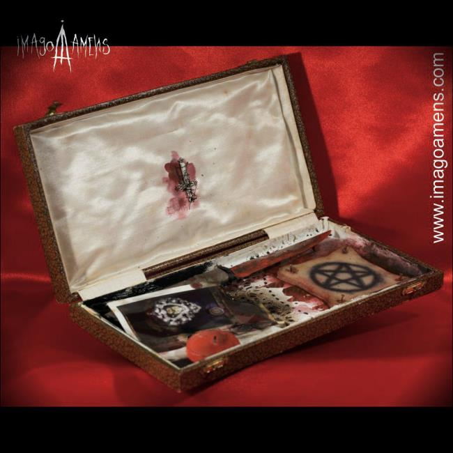 SECRET BOX  / Pelle tatuata - 3