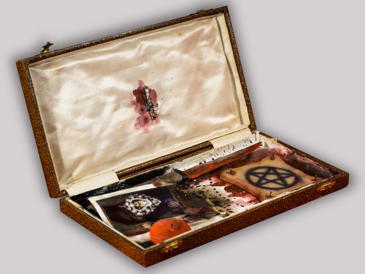 SECRET BOX  / Pelle tatuata - 2